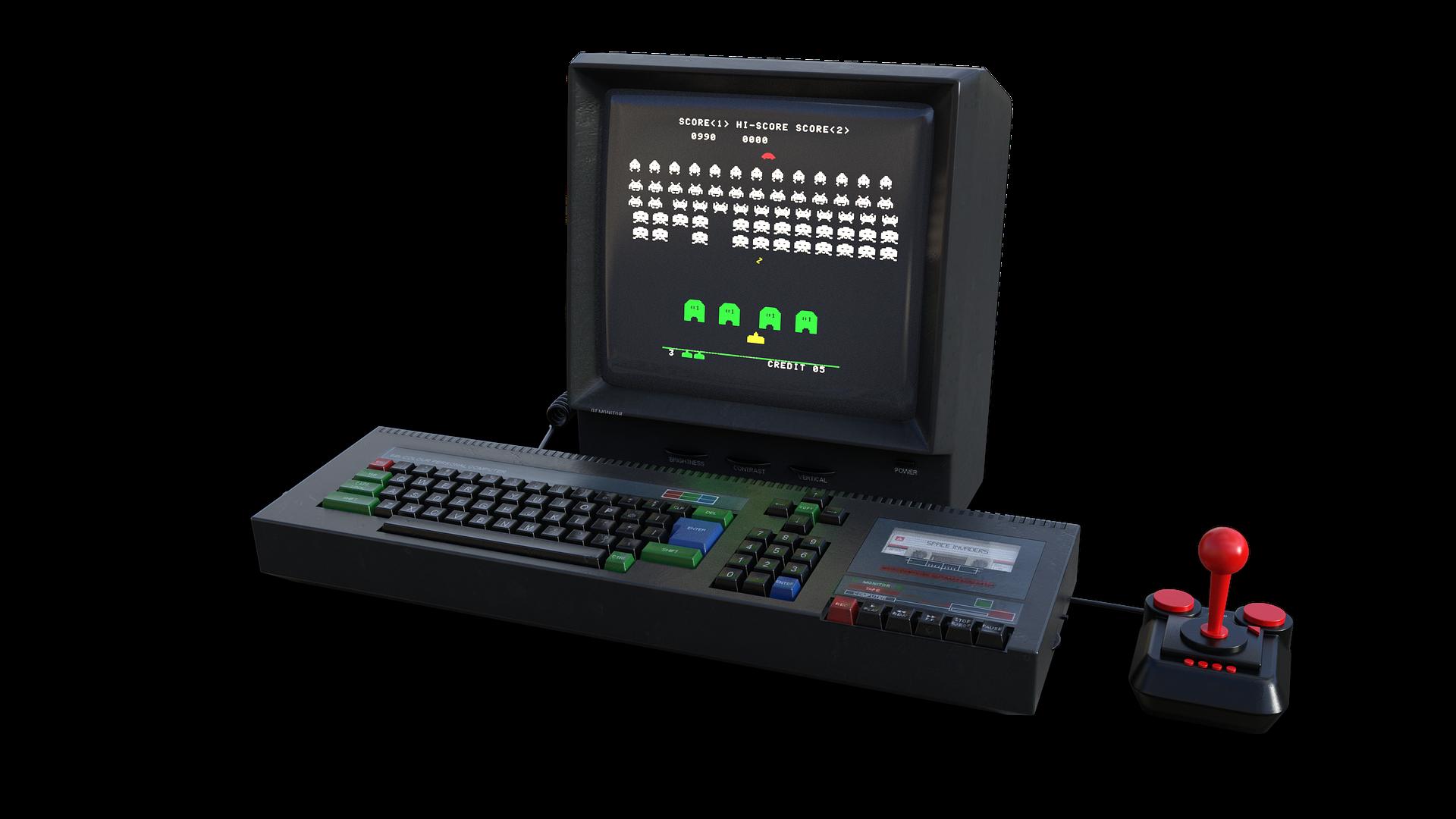1980年代ゲーム機の画像